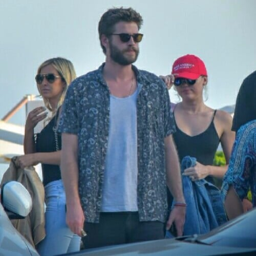 Miley Cyrus Wearing New Ring With Liam Hemsworth