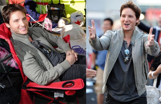 Pictures of Peter Facinelli, Jackson Rathbone, and Billy Burke at an Eclipse Fan Event in LA