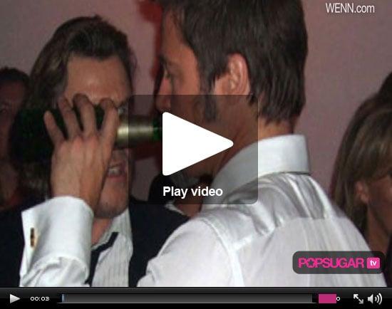 Video of Chris Brown and Rihanna in NYC, Brad Pitt Drunk in Berlin, Heidi Montag Playboy