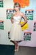 Taylor Swift's Maria Lucia Hohan ivory dress got major shine thanks to her gold T-strap Nicholas Kirkwood sandals at the 2012 Kids' Choice Awards in LA.
