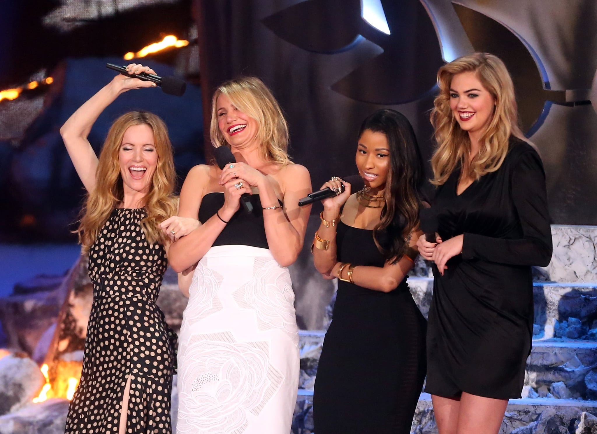 The cast of The Other Woman also brought the heat —and the laughs.