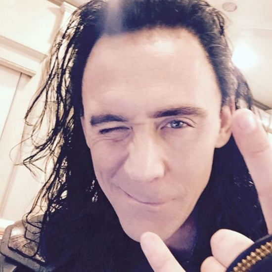 Tom Hiddleston as Loki on Set of Thor Ragnarok Instagram