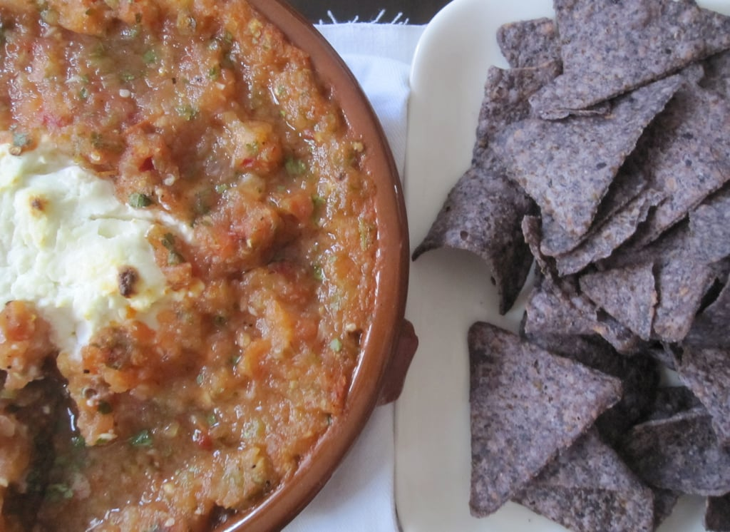Baked Goat Cheese With Salsa