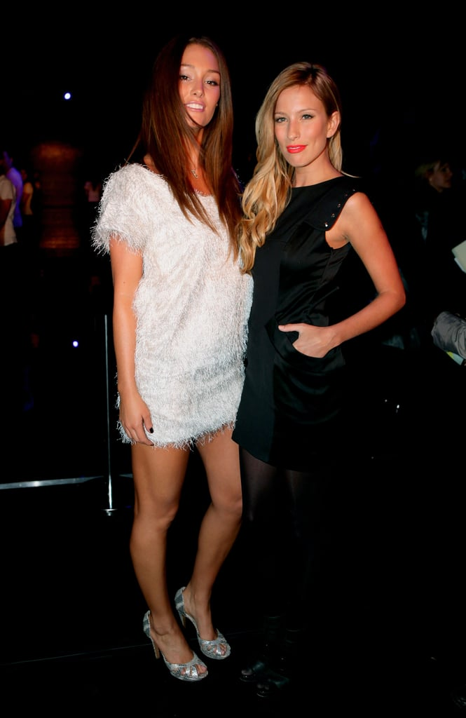 Erin McNaught and Renee Bargh caught up at Nicola Finetti in 2009.