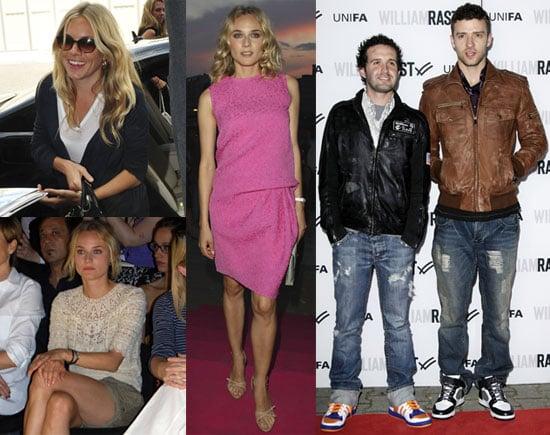 Photos of Justin Timberlake, Diane Kruger and Sienna Miller at 2010 Spring Berlin Fashion Week