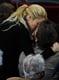 Shakira kissed Barcelona player Gerard Piqué during the La Liga match in Barcelona in April 2011.