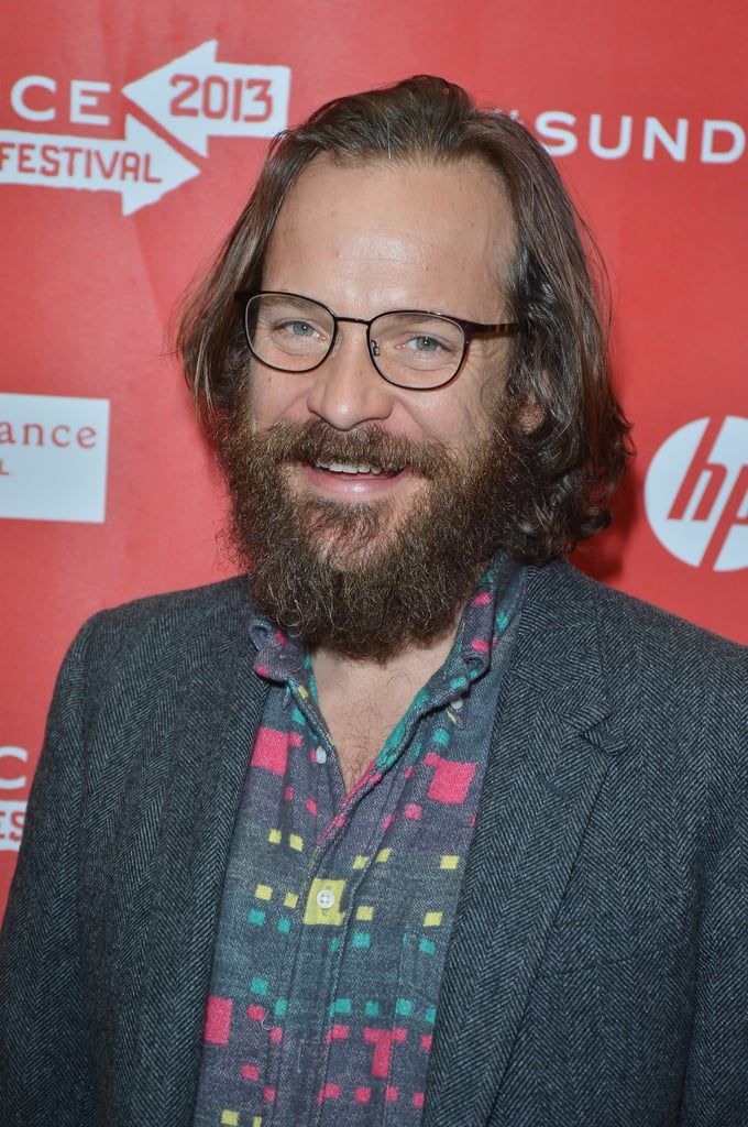 Peter Sarsgaard wore a printed shirt to the premiere.