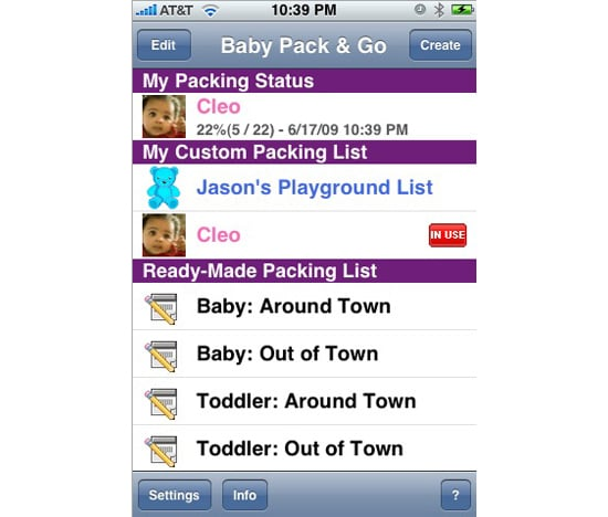 Baby Pack and Go