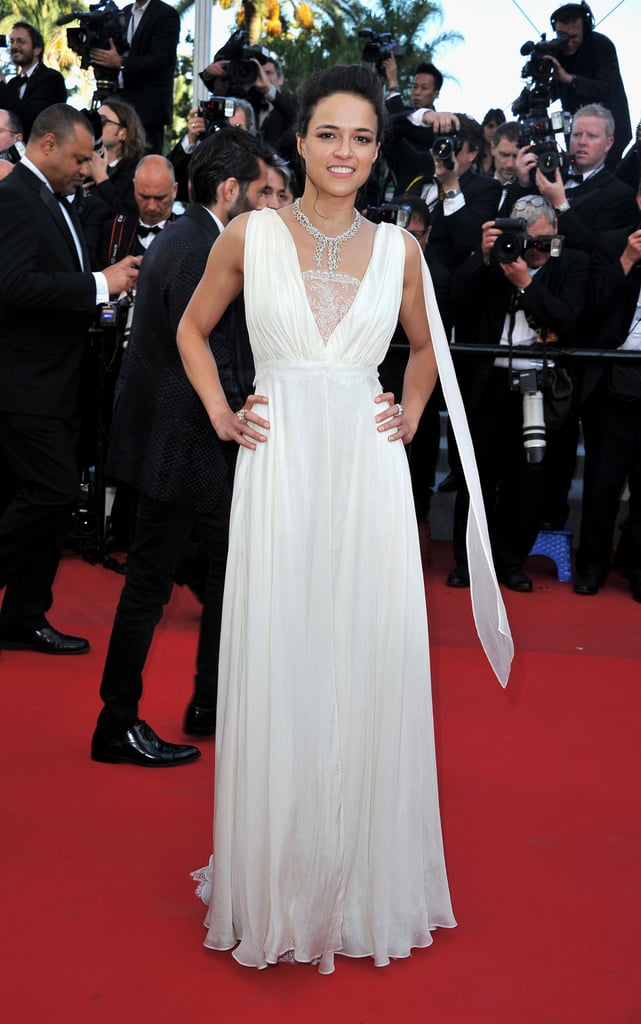 Michelle Rodriguez at the Cannes premiere of Killing Them Softly.