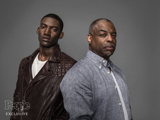 Roots Producer LeVar Burton, Star Malachi Kirby and PEOPLE's Janine Rubenstein Take Genealogy Test to Discover Their History