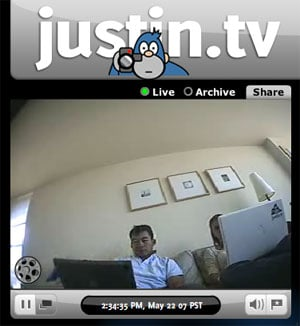 Will You Join The Justin TV Network?