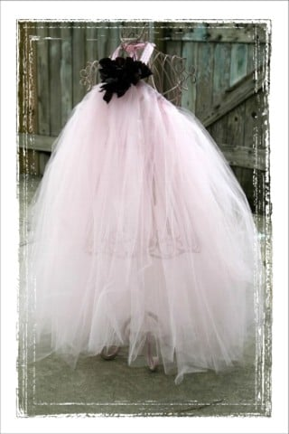 Pink Tutu Halter Dress ($50)