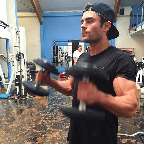 Zac Efron Biceps Picture February 2016