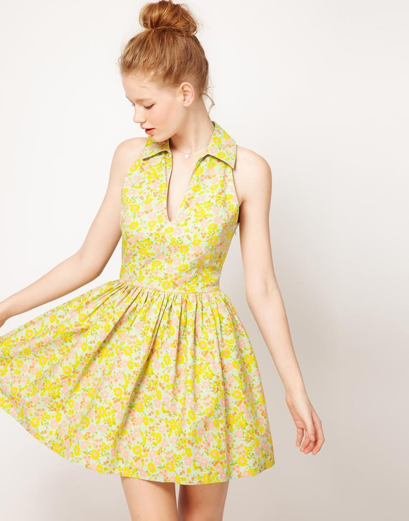 ASOS Printed Summer Dress With Collar ($45)