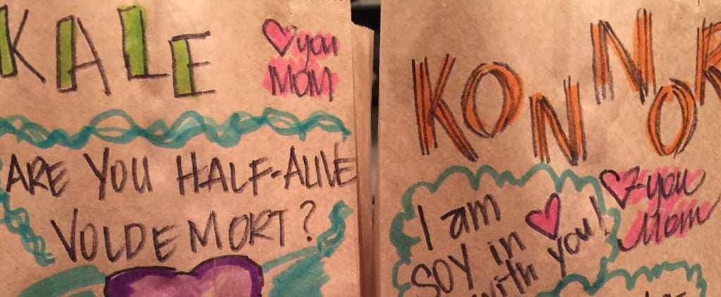 This Mom Continues to Outdo Herself With Hilarious Lunch Bag Jokes