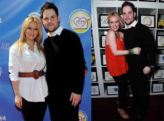 Pictures of Hilary Duff and Mike Comrie at the George Lopez Golf Classic 2010-05-04 16:00:00