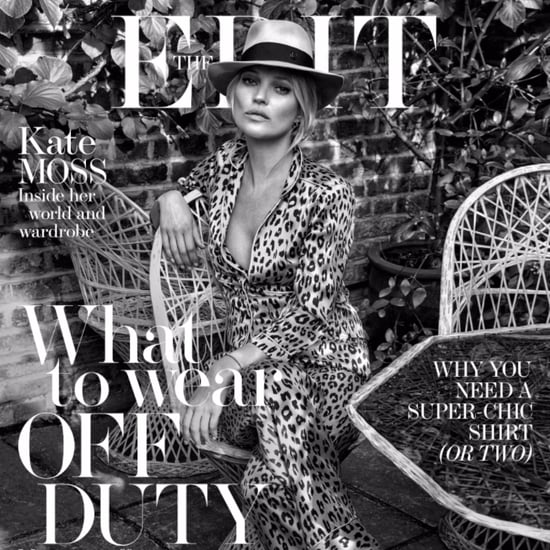 Kate Moss in The Edit June Issue 2016