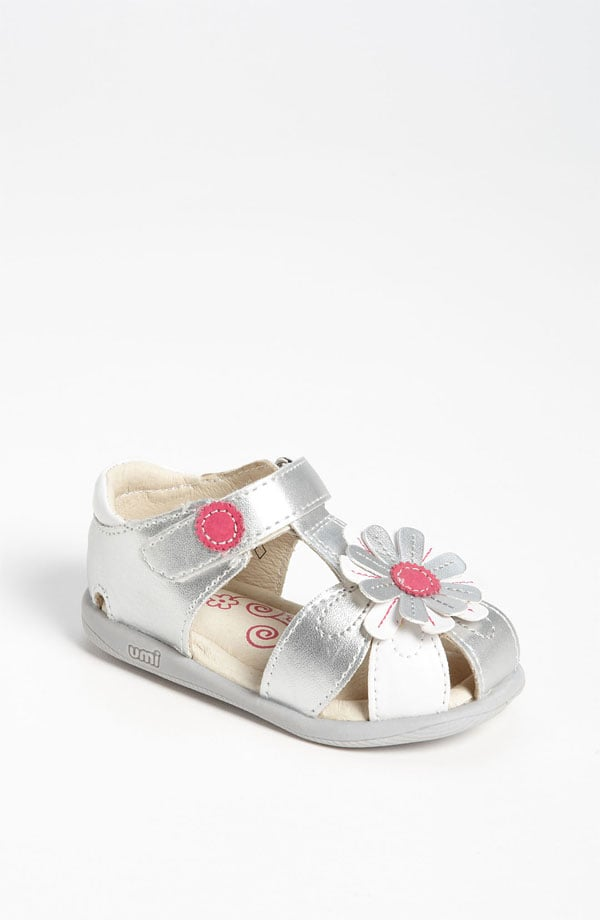 Feminine and fresh, Umi's Adeline sandals ($46) feature a playful daisy and solid straps.