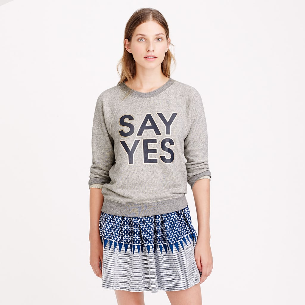 J.Crew Graphic Sweatshirt