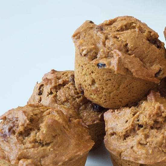 Pumpkin Raisin Flax Muffins
