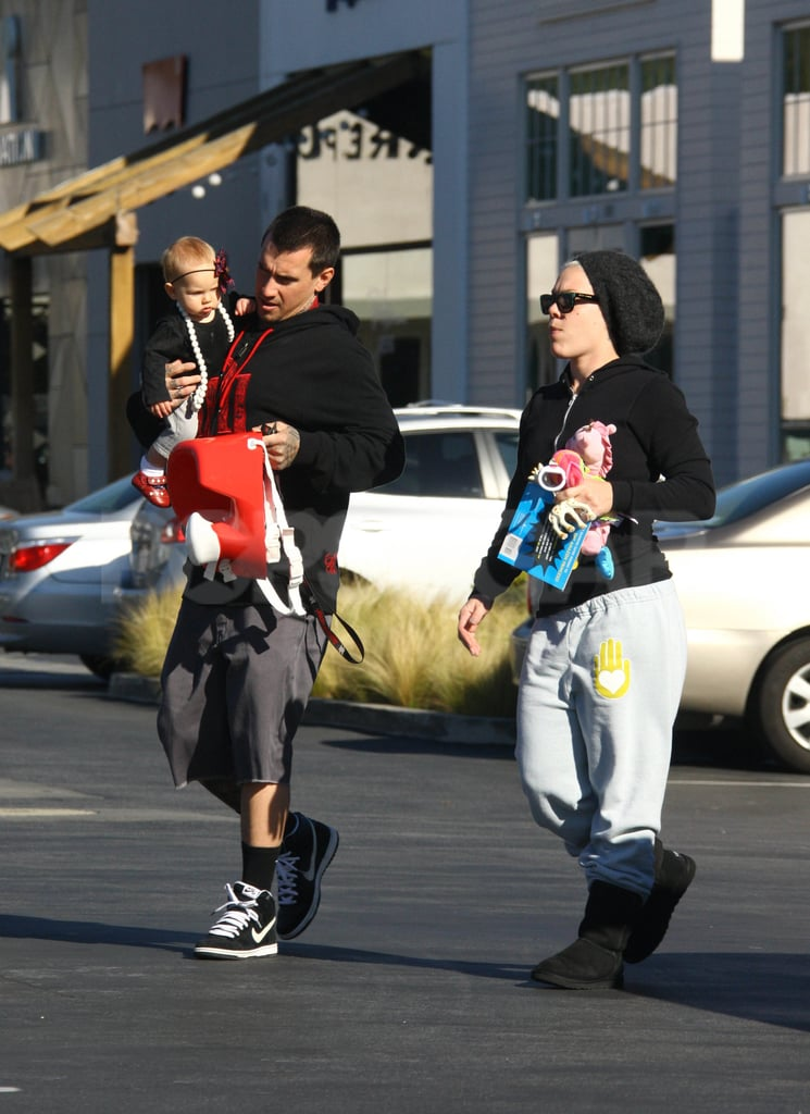 Pink and Carey Hart enjoyed a morning outing in LA with baby Willow.