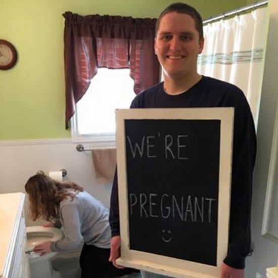 Pregnancy Announcement With a Twist