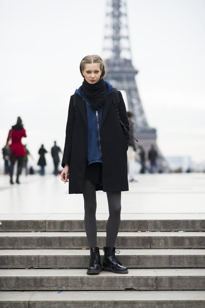 What's more Parisian chic than having the Eiffel Tower in the background of your portrait? Source: Le 21ème   Adam Katz Sinding