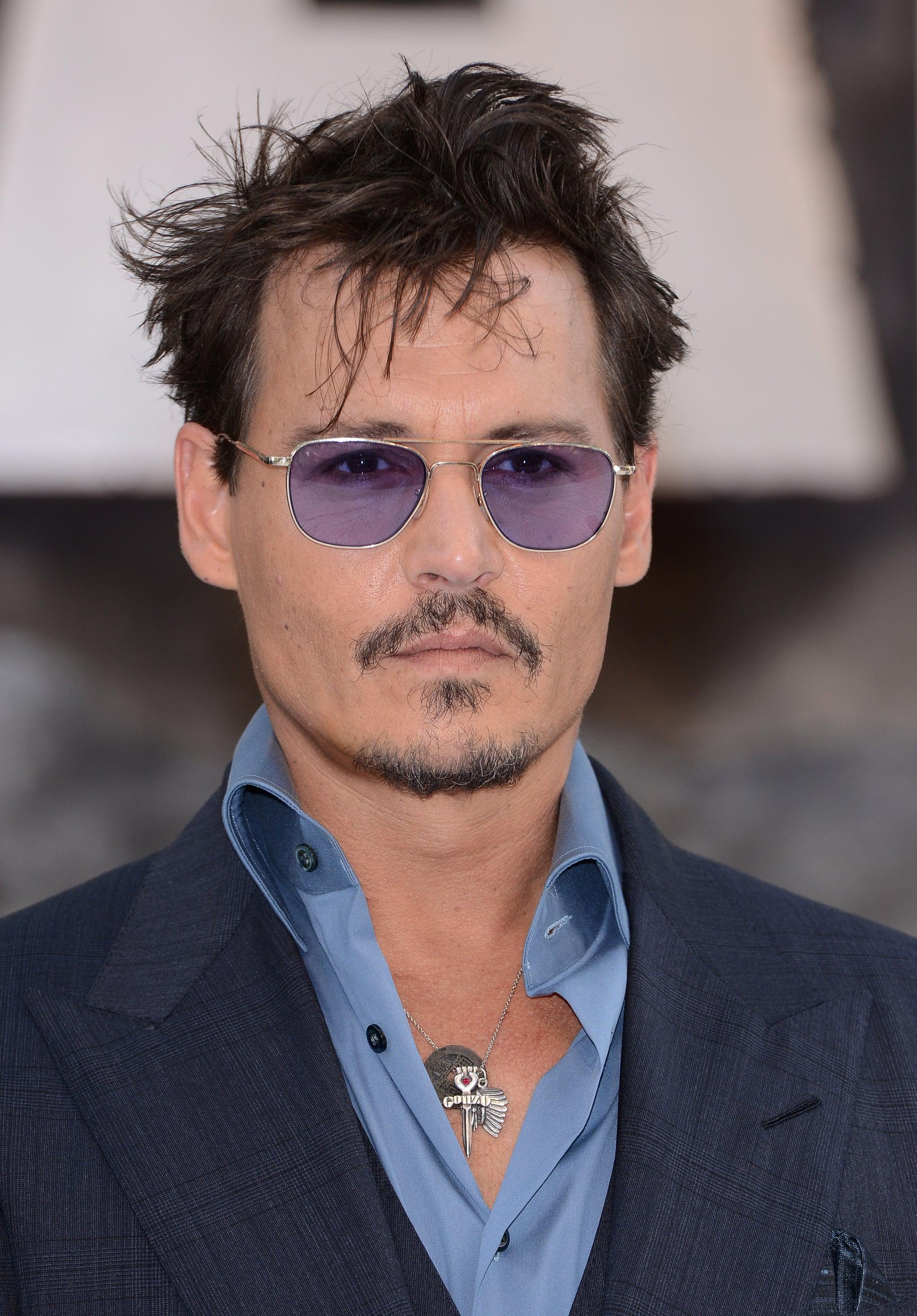 Johnny Depp: The Skinny 'Stache Beard
