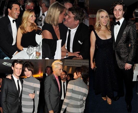 Pictures of Ed Westwick, Aaron Johnson, James Corden at GQ Men of Year Awards Ceremony and Afterparty