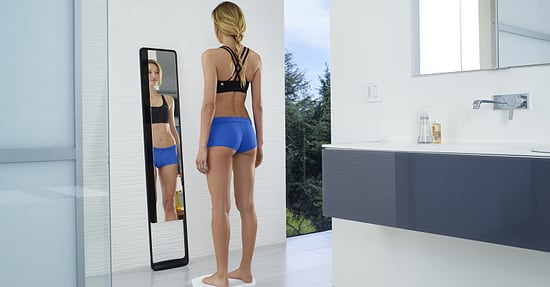 """New """"Naked"""" Mirror Promises to Help You Get Fitter"""