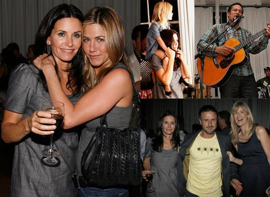 Photos of Jennifer Aniston, Courteney Cox, David Arquette, Ben Harper, Laura Dern Launching Propr