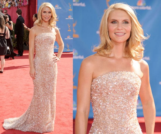 Claire Danes at the 2010 Emmy Awards