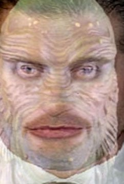 Guess Who Is Morphed With the Creature From the Black Lagoon?