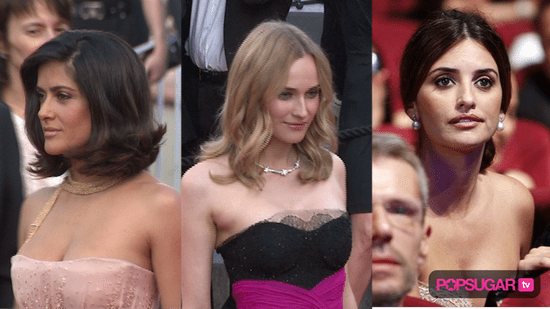 Video from the 2010 Cannes Film Festival Red Carpet