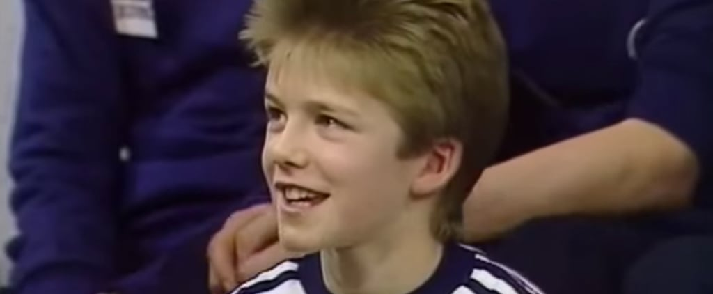 Does This Adorable Throwback of a Young David Beckham Remind You of Anyone?
