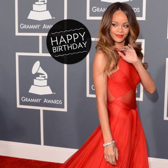 Rihanna Turns 25 — See Her Most Memorable Red-Carpet Moments