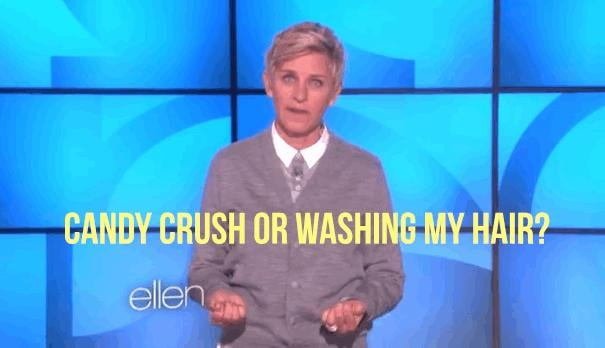 Ellen speaks to our deepest worries.