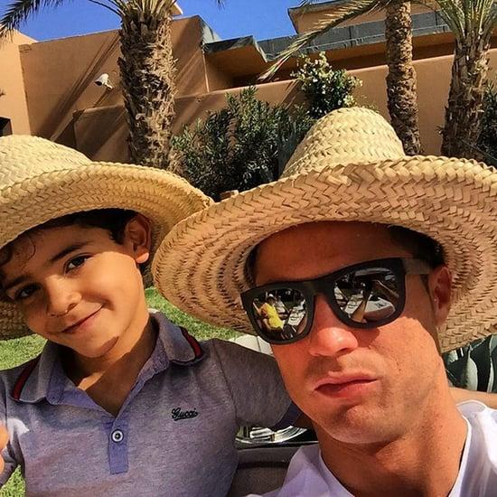 Cristiano Ronaldo Family Pictures