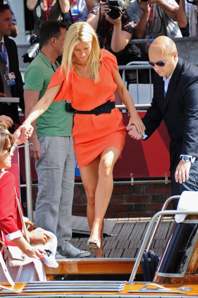 Gwyneth Paltrow in Venice.