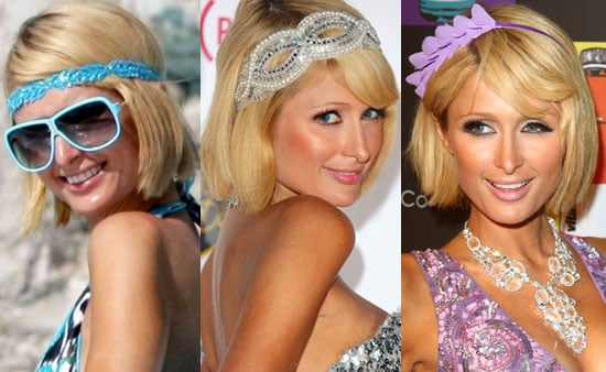 Which Hair Accessory Do You Like Best on Paris Hilton?