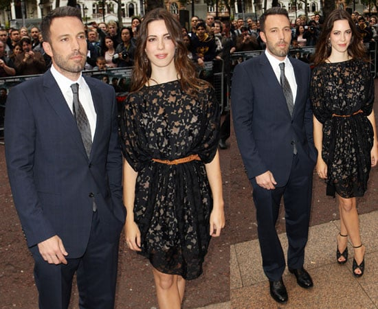Ben Affleck and Rebecca Hall at The Town UK Premiere in London