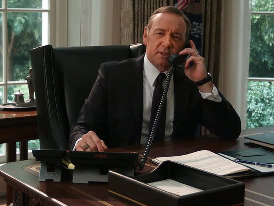 Kevin Spacey Prank Calls Hillary Clinton as Frank Underwood (VIDEO)