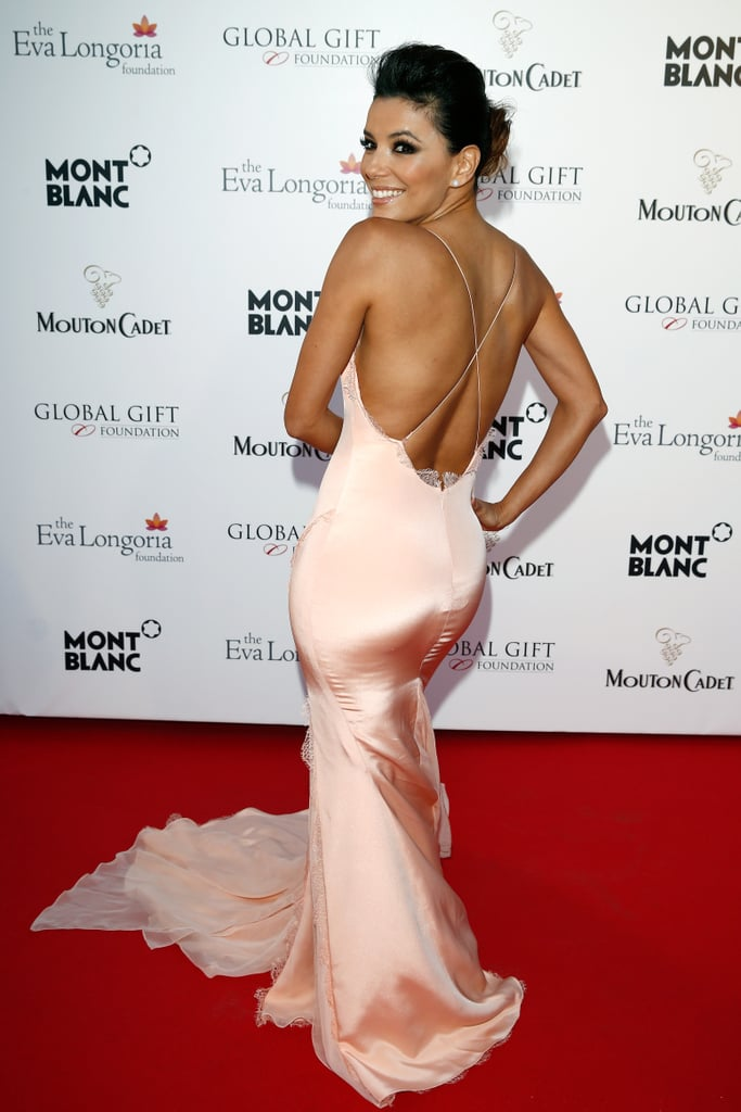 Eva Longoria hosted the global gift gala.