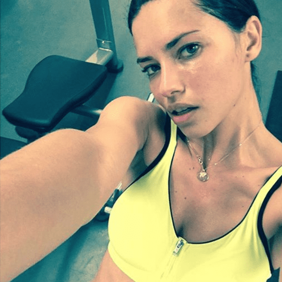 Adriana Lima's Met Gala Workout