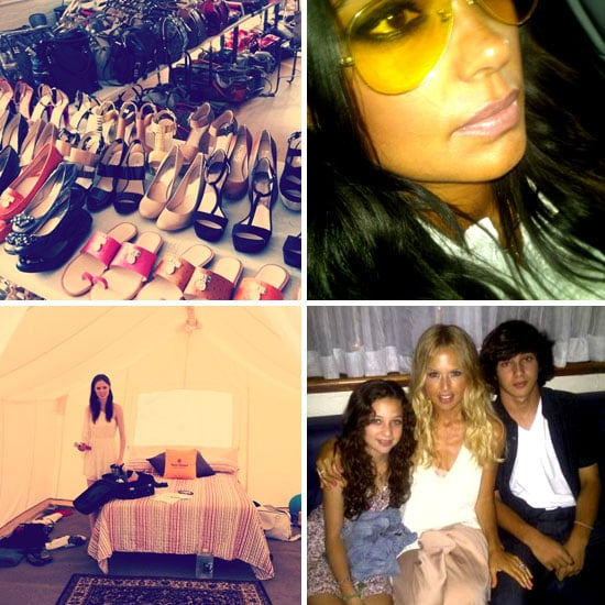 Pictures of Celebrities and Models on Twitter Aug. 9, 2011