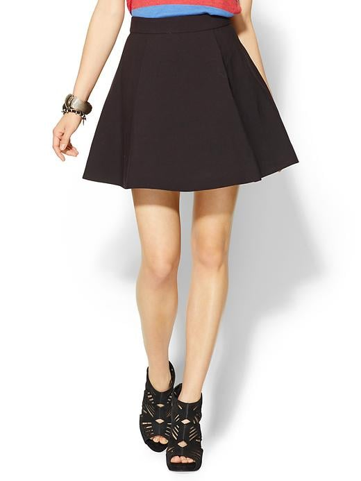 We love that skater skirts, like this Bardot Kate skater skirt ($78, originally $97), are easy to dress up or down — just swap heels for oxfords for a preppy off-duty look.