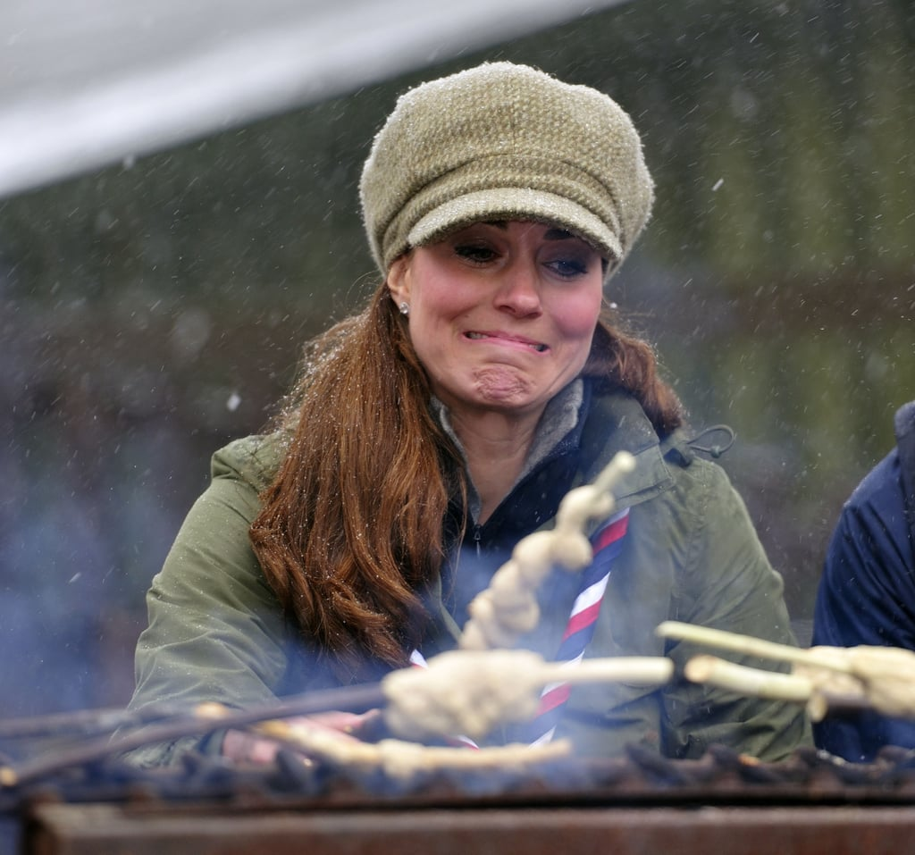 Kate Middleton save a cute mug while by the campfire.