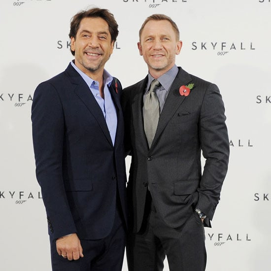 Daniel Craig and Javier Bardem Pictures to Announce Start of Bond