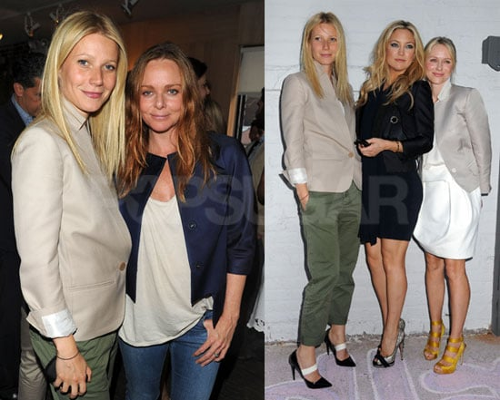 Pictures of Gwyneth Paltrow, Kate Hudson, And Naomi Watts at Stella McCartney's Show 2010-06-09 07:45:00