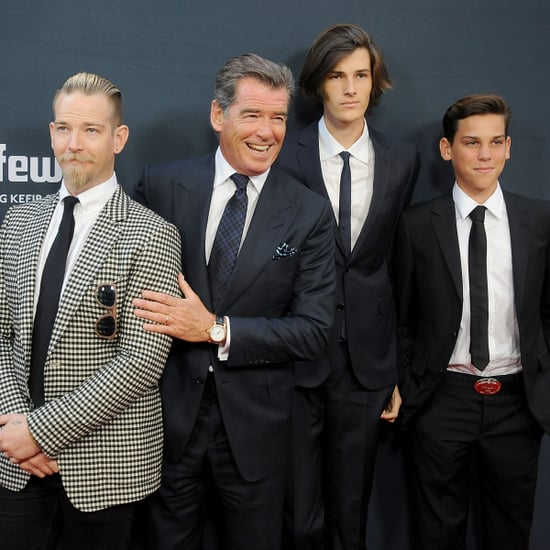 Pierce Brosnan and His Sons on the Red Carpet 2015